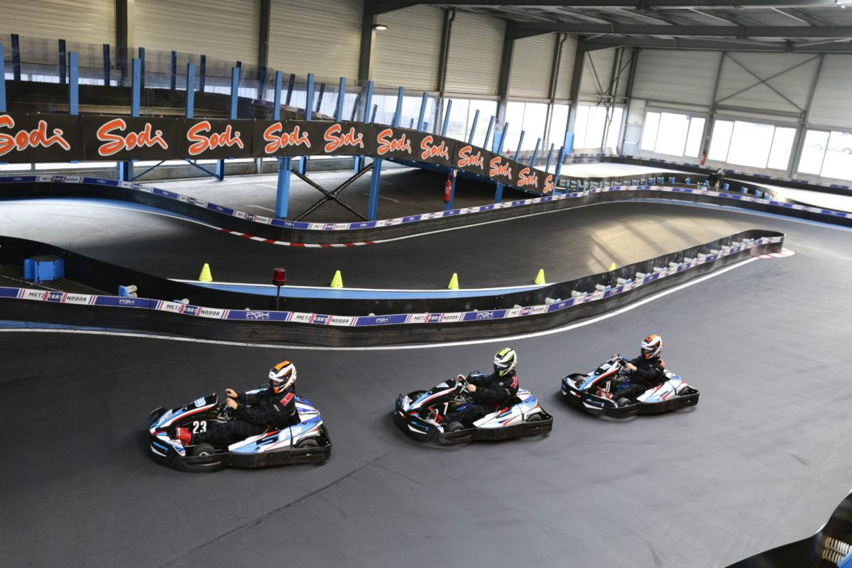 metz kart indoor - piste de karting - metz - augny