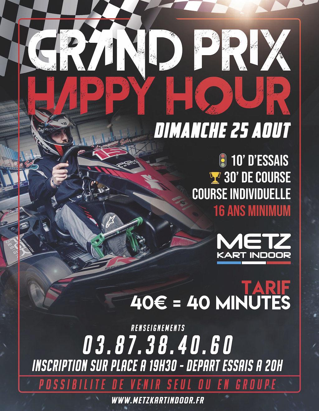 GP Happy Hour - Metz Kart Indoor