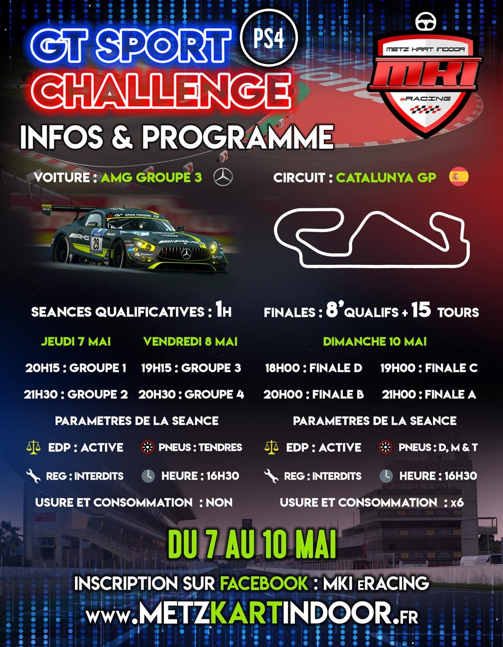 metz kart indoor - GT SPORT CHALLENGE - MKi - eKart
