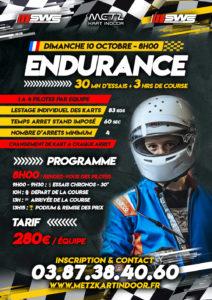endurance 10 octobre